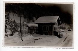 Loeche Les Bains Gare En Hiver  -----  141 - VS Valais
