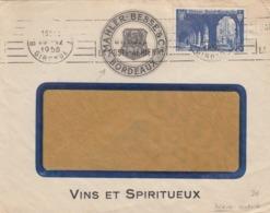 LETTRE. 1950. VIN ET SPIRITUEUX MAHLER-BESSE & C° BORDEAUX - Werbung