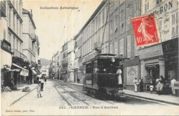 CANNES: RUE D'ANTIBES - Cannes
