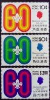 Hong Kong 1971 Scout Yvert 253-255 ** MNH - Ungebraucht