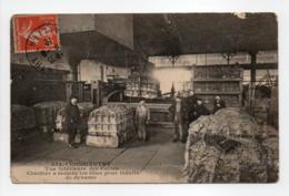 - CPA COMMENTRY (03) - Vue Intérieure Des Usines 1912 - Chantier à Recuire Les Tôles Pour Induits De Dynamo - - Commentry