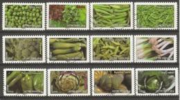 France 2012 - Légumes Verts - Série Complète De 12° - YT 739/50 - Vrac (max 999 Timbres)