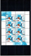 Belarus 2006 .WOG Turin 2006. Sheetlet Of 8.  Michel # 613 KB - Belarus