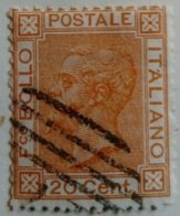 Italie Italy Italia 1867 Victor Emmanuel II Yvert 24 O Used - 1861-78 Victor Emmanuel II.
