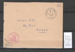 Algerie - Lettre - Cachet Poste Aux Armées - AFN - ROUAFA SAS- Marcophilie - Algeria (1924-1962)