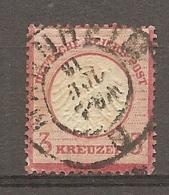 DR - Yv. N° 9 MI. N° 9  (o)  3k Rose Carminé   Cote  16,5  Euro  BE   2 Scans - Allemagne
