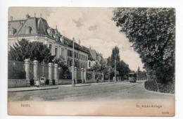 Basel St.Alban Anlage Kinderwagen Tram  -----   408 - BS Basle-Town