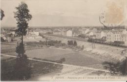 91 Juvisy Panorama Sur Le Chemin De Fer Depuis L'avenue De La Cour De France Passage Du Train -48a - Juvisy-sur-Orge