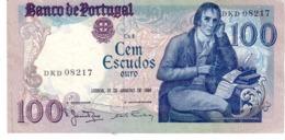 Portugal P.178 100 Escudos 1981  Unc - Portogallo