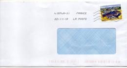 """2019-- Tp  Adhésif   """" Homard Breton """".....  """"  Seul Sur Lettre- - Marcophilie (Lettres)"""
