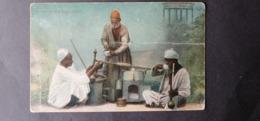 EGYPTE EGITTO مصر EGYPT POSTCARD 1920 COSTUME CAFETIER AMBULANT $$8 - Personen