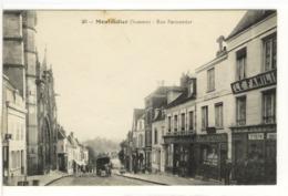 Carte Postale Ancienne Montdidier - Rue Parmentier - Montdidier