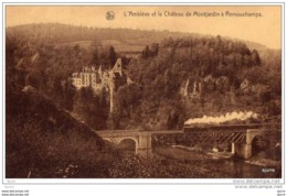REMOUCHAMPS / Aywaille - Kasteel - L'Amblève Et Le Château De MONTJARDIN - Aywaille