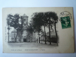 GP 2019 -  2161  GIVET-CHARLEMONT  (Ardennes)  :  L'EGLISE   XXX - Givet