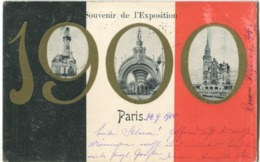 75 Paris Exposition 1900 Souvenir De L'Exposition - Ausstellungen