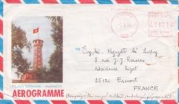 VIETNAM AEROGRAMME . TO FRANCE - Vietnam