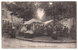 Orléans - Le Samedi - Place Du Marché Aux Veaux - édit. A.L.B.O.  + Verso - Orleans