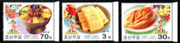 Corée Nord DPR Korea 3244/46 Gastronomie, Plats Traditionnels - Alimentación