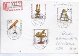 AK-div-32- 61286 -  Einschreiben   Von  Allensbach   Nach Dresden - [7] West-Duitsland