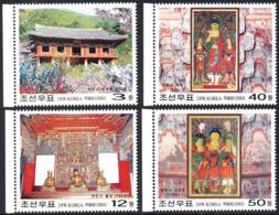 Corée Nord DPR Korea 3248/51 Bouddha - Buddhism