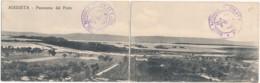 Z.728. AUGUSTA - Siracusa - Cartolina Doppia - Italia
