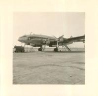 AVION PHOTO ORIGINALE FORMAT 7 X 7 CM - Aviazione