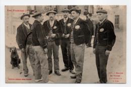 - CPA LUCHON (31) - Groupe De Guides Luchonais à Pied (belle Animation) - Photo Labouche 117 - - Luchon