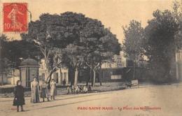 CPA 94 PARC SAINT MAUR LA PLACE DES MARRONNIERS - Saint Maur Des Fosses
