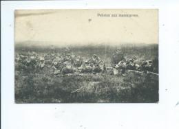 Leopoldsburg Bourg Leopold Camp De Beverloo    Peloton Aux Manoeuvres - Leopoldsburg