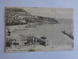 Nice - Entrée Du Port Et Le Mont Boron - 1904 - Transport Maritime - Port