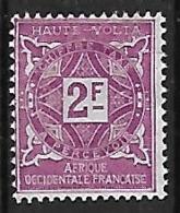 HAUTE-VOLTA TAXE N°19 N* - Portomarken