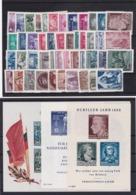 DDR, O. Nr. 453/58 Kpl. Jahrgang 1955** Mi. (K 5441) - [6] Repubblica Democratica