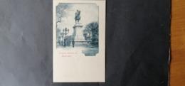 EGYPTE EGITTO مصر EGYPT POSTCARD 1920 MONUMENT MEHEMED-ALI ALEXANDRIE $$8 - Alexandrië