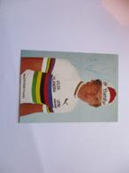 Cyclisme Photo Signee Freddy Maertens - Ciclismo