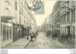 PARIS IX. Fiacres Taxi Rue De Londres 1906 - Distrito: 09