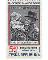 Ref. 61786 * MNH * - CZECH REPUBLIC. 2000. TRADITION IN CZECH STAMPS . LA TRADICION EN LOS SELLOS CHECOS - Czech Republic