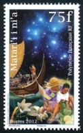 POLYNESIE 2012 - Yv. 1011 **   Faciale= 0,63 EUR - Légende Polynésienne Matari'i Ni'a  ..Réf.POL24937 - Polynésie Française