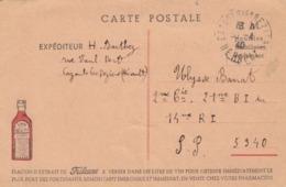 CP LA FRILEUSE (A BASE D'UVARIA DE MADAGASCAR) POUR UN SOLDAT EN 1940 / 2 - Werbung