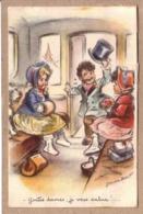 GERMAINE BOURET - ENFANT , GARCON , FILLE , CHIEN - GENTES DAMES , JE VOUS SALUE !... - éditeur M.D. - Bouret, Germaine