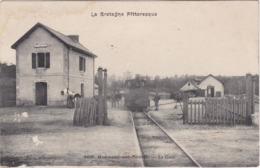 GUEMENE-sur-SCORFF - La Gare - Le Train - Animé - Guemene Sur Scorff