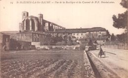 83-SAINT MAXIMIN LA SAINTE BEAUNE-N°T1096-H/0399 - Saint-Maximin-la-Sainte-Baume