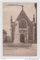 44 - LE GAVRE - PLACE DE L'ÉGLISE LE MONUMENT AUX ENFANTS MORTS POUR LA PATRIE 1914 1918 - 2 Scans - - Le Gavre