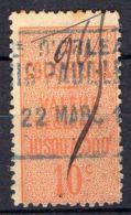 FRANCE ( COLIS POSTAUX ) : Y&T  N°  6  TIMBRE  BIEN  OBLITERE , A  VOIR . - Oblitérés