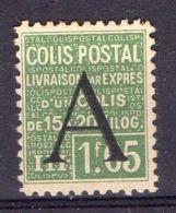 FRANCE ( COLIS POSTAUX ) : Y&T  N° 87  TIMBRE  NEUF  AVEC  TRACE  DE  CHARNIERE , A  VOIR . - Colis Postaux