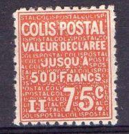 FRANCE ( COLIS POSTAUX ) : Y&T  N°  98  TIMBRE  NEUF  AVEC  TRACE  DE  CHARNIERE , A  VOIR . - Colis Postaux