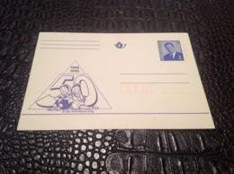 EP. 63. Neuve Bob Et Bobette 1945-1995 - Stamped Stationery