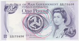 Isle Of Man P 40 C - 1 Pound 1983 - UNC - 1 Pound