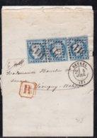 France, Ardennes - GC 3117 De Rethel Sur LR De 1875 - 1849-1876: Période Classique