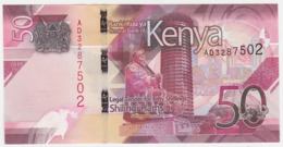 Kenya P NEW - 50 Shillings 2019 - UNC - Kenia