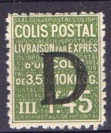 FRANCE ( COLIS POSTAUX ) : Y&T  N°  137  TIMBRE  NEUF  AVEC  TRACE  DE  CHARNIERE , A  VOIR . - Colis Postaux